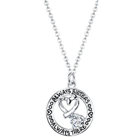 Footnotes Always Sisters Necklace