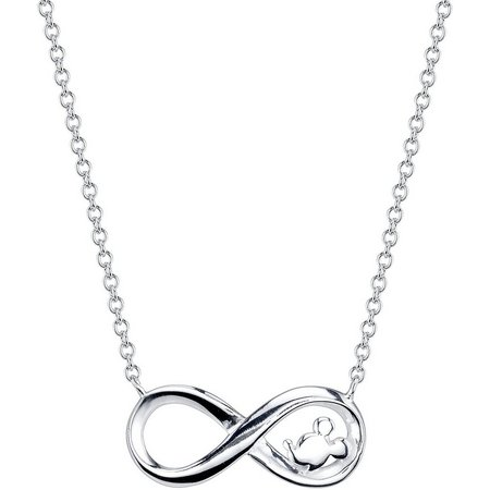 Disney Mickey Laughter Infinity Necklace