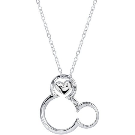Disney Magical Moments Mickey Mouse Necklace