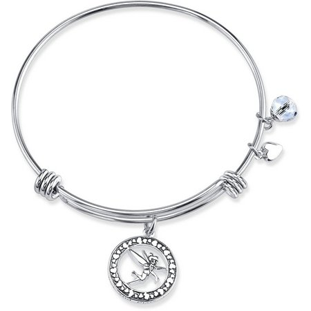 Disney Boxed Tinker Bell Charm Bangle Bracelet