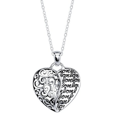 Footnotes Mother Daughter Love Pendant Necklace