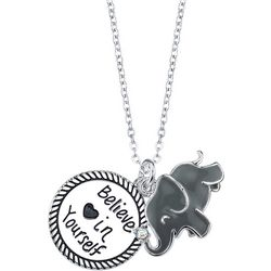 Footnotes Elephant Believe In Yourself Necklace