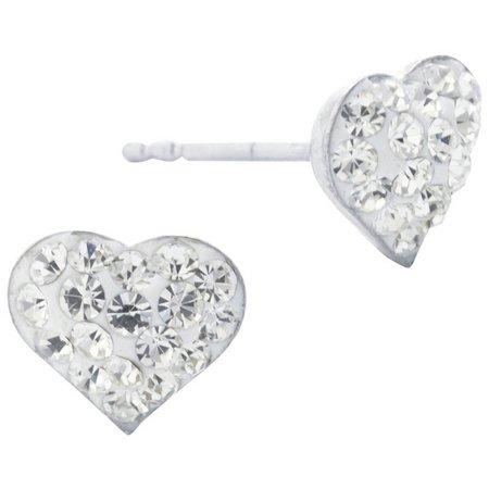 Lily Maris Heart Stud Earrings