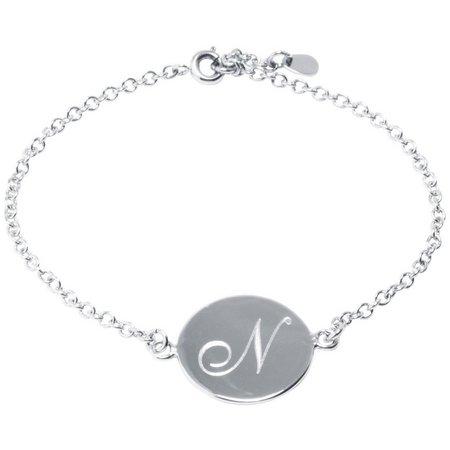 Initial Bracelets N Chain Link Bracelet