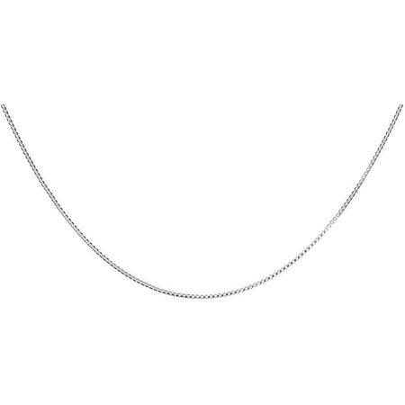 Pure 100 24 Inch Thin Box Chain Necklace