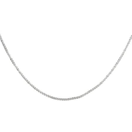 Pure 100 18 Inch Fancy Rolo Chain Necklace
