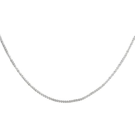 Pure 100 24 Inch Fancy Rolo Chain Necklace