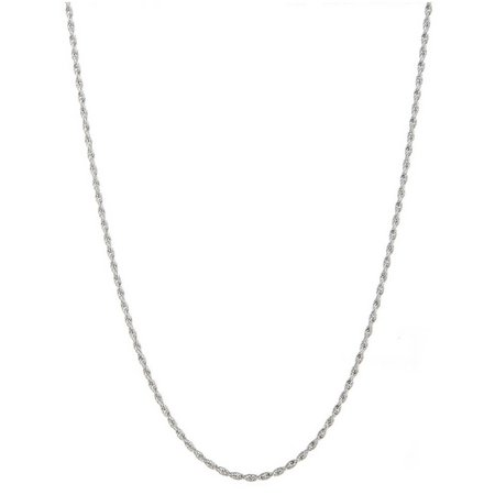 Sterling Connections 20 in. Rope Chain Necklace