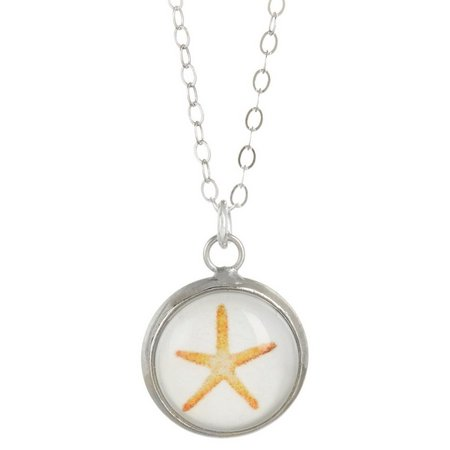 Beach Chic Boxed Starfish Pendant Necklace