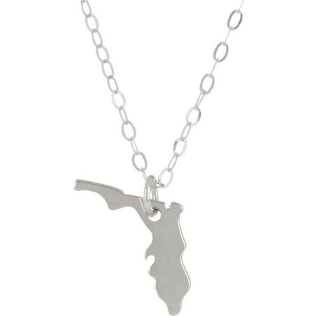 Beach Chic The Sunshine State Pendant Necklace