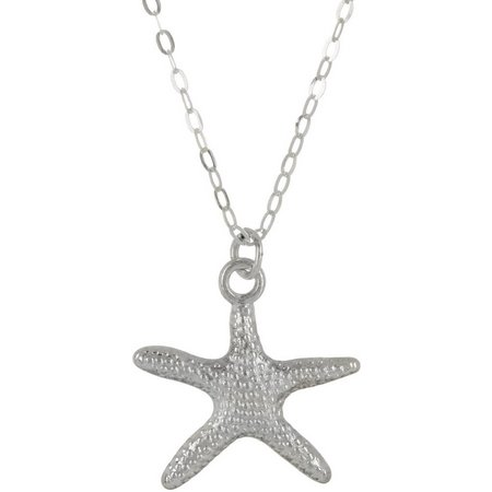Beach Chic Star Of The Sea Pendant Necklace