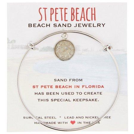 Beach Chic St. Pete Beach Sand Charm Bracelet
