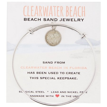 Beach Chic Clearwater Beach Sand Charm Bracelet