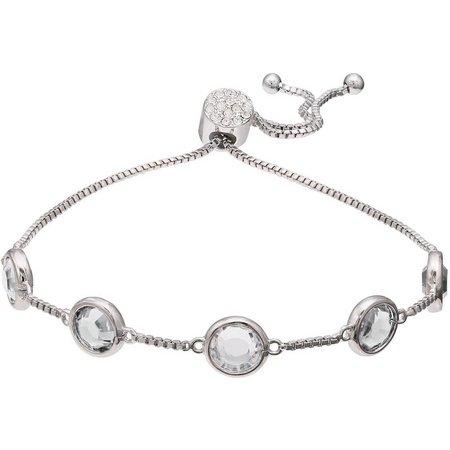 Crystal Elements Clear Crystal Bracelet