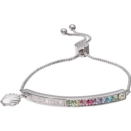 Crystal Elements Florida Crystal Slider Bracelet