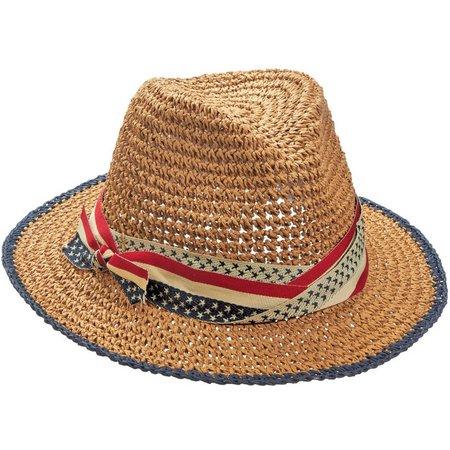 Capelli Womens Nautical Fedora Hat