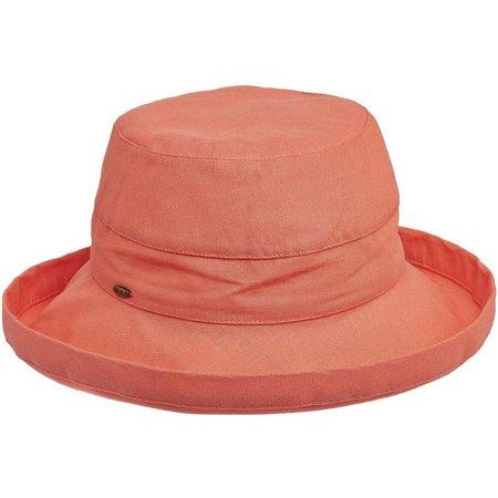 Scala Womens Cotton Medium Brim Sun Hat