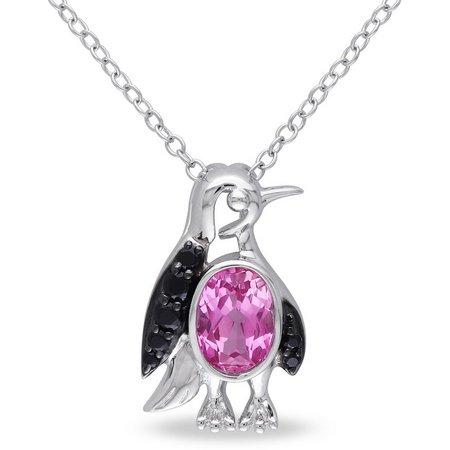 Amour 1 1/2-ct. T.G.W. Penguin Pendant