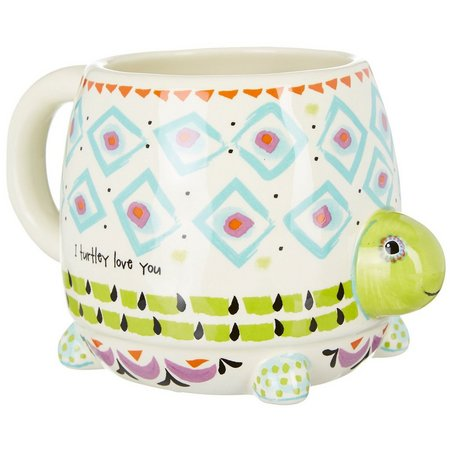 Natural Life Folk Turtle Mug