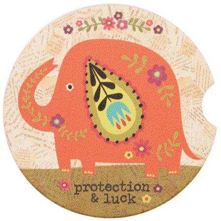 Natural Life Protection & Luck Car Coaster