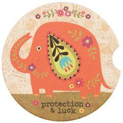 Natural Life Protection & Luck Car Coaster