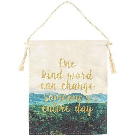 Natural Life One Kind Word Wall Hanging