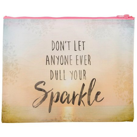 Natural Life Your Sparkle Zipper Pouch