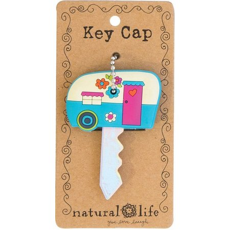 Natural Life Enjoy the Ride Camper Key Cap