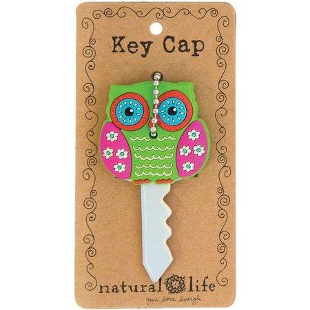 Natural Life Be Happy Owl Key Cap