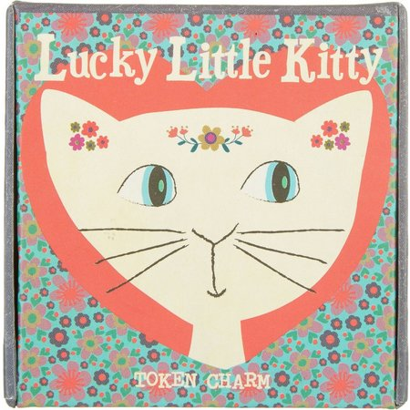 Natural Life Kitty Lucky Token Charm
