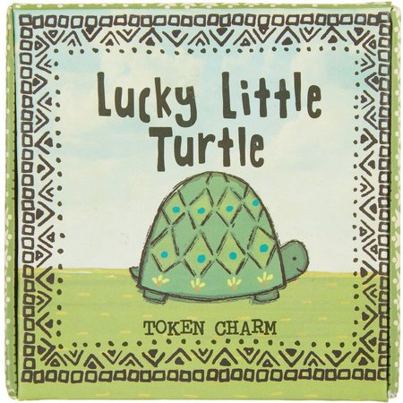 Natural Life Lucky Turtle Token Charm
