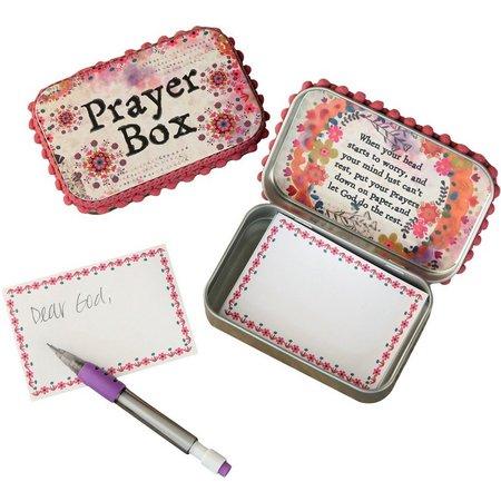 Natural Life Watercolor Prayer Box