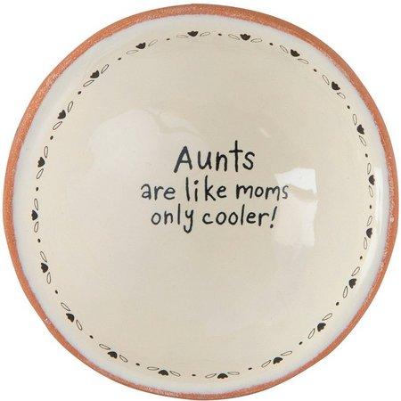 Natural Life Aunts Are Like Moms Trinket Dish