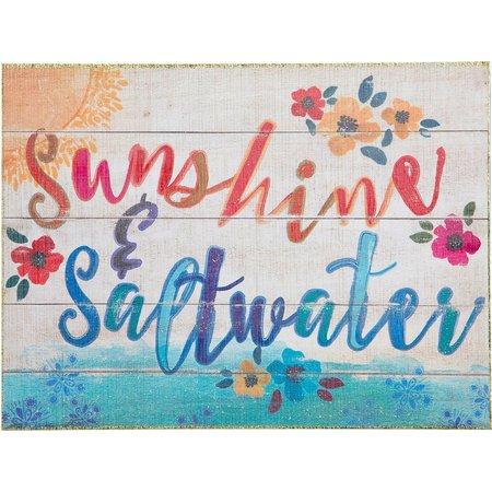 Natural Life Sunshine & Saltwater Wood Art