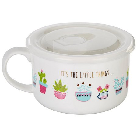 Natural Life It's The Little Things Soup Mug