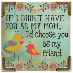 Natural Life Mom & Friend Magnet