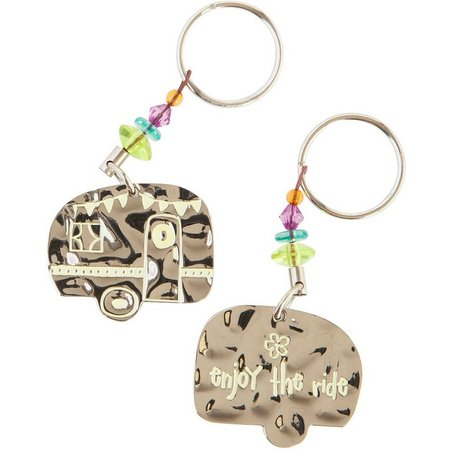 Natural Life Enjoy The Ride Keychain