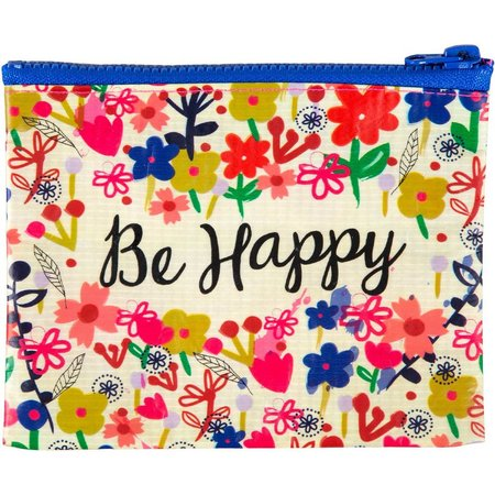 Natural Life Be Happy Coin Purse
