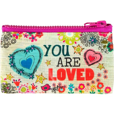 Natural Life You Are Loved Coin Purse
