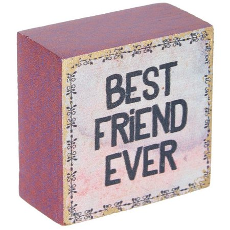 New! Natural Life Best Friend Ever Tiny Block