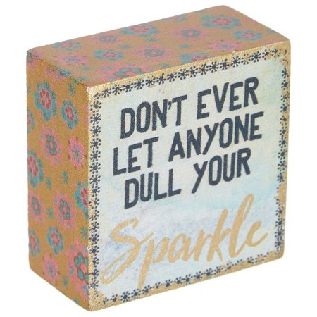 New! Natural Life Don't Dull Your Sparkle Keepsake