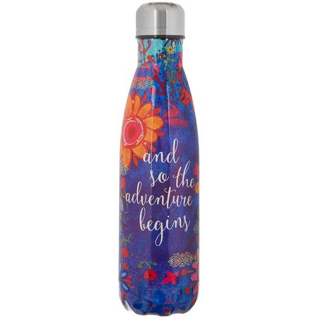 New! Natural Life 17 oz. Adventure Begins Water