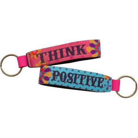 Natural Life Think Positive Key Fob