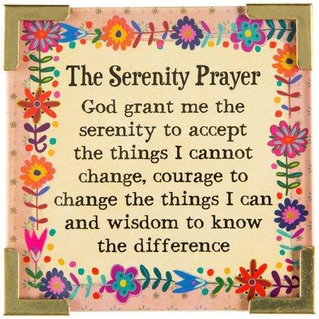 Natural Life Serenity Prayer Magnet