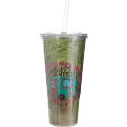 Natural Life 20 oz. Camper Tumbler With Straw