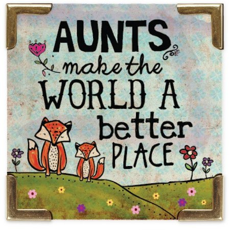 Natural Life Aunts Make The World Better Magnet