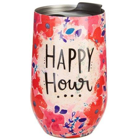 Natural Life Happy Hour Wine Tumbler