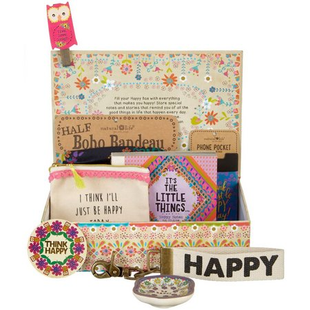 Natural Life Large Floral Happy Box