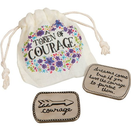 Natural Life Giving Token Of Courage & Bag
