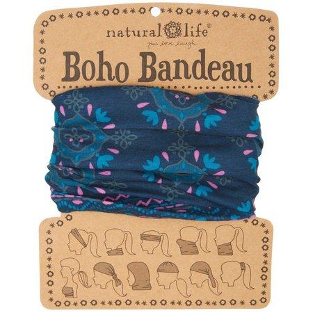 Natural Life Blue Geo Boho Bandeau